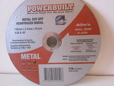 "180mm  - 7"" CUTTING DISC. POWERBUILD. PK5"