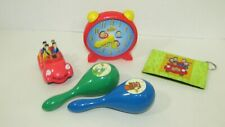 The Wiggles mini big red car cake topper clock maracas wallet