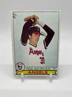 1979 Topps Baseball Nolan Ryan #115 - Nice Condition