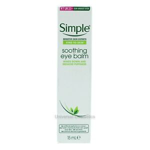 Simple Kind To Eyes Soothing Eye Balm 15ml