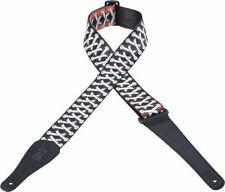 "Levy's MPD2-035 2"" Poly Guitar Strap - Laces"