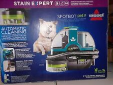 Bissell SpotBot Pet 1-Speed 0.2-Gallon Portable Carpet Cleaner 21142 Teal