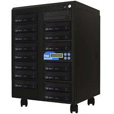 ProDuplicator 1-15 Blu-ray Burner Duplicator BD MDisc CD DVD Replication Tower