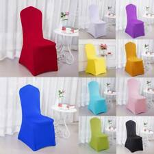Elastic Spandex Seat Cover Chair Covers Restaurant Wedding Banquet Party Decor