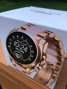 Michael Kors Bradshaw 2 Rose Gold-Tone and Acetate Smart Watch (MKT5090)