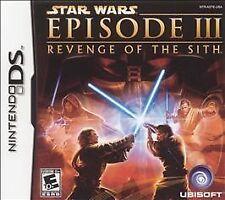 Star Wars Episode III Revenge of the Sith ( Nintendo DS ) Lite Dsi xl 2ds 3ds xl