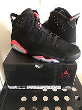 Nike Air Jordan Retro 6 Black Infrared 100% Authentic (2014) - 384664-023