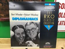 DIPLOMANIACS Laserdisc LD RKO CLASSIC COLLECTION