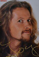 JOEY KELLY - Autogrammkarte - Signed Autograph Autogramm Clippings Fan Sammlung