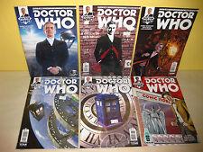 DOCTOR WHO 12th DR #1-4 - #1 Phantom Variant - MORRISON - Bonus 10th Dr Variant