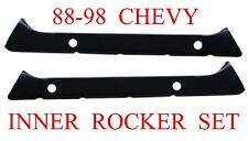 88 98 Inner Rocker Backing Plate Set, Chevy GMC Truck, L&R Sides, 1.2MM Thick!!