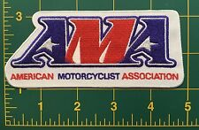 Motorcycle patch  AMA American Motorcycle Assoc.  4 7/8""