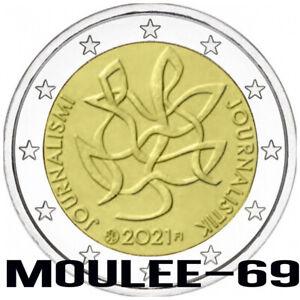 2 Euros Conmemorativos FINLANDIA 2021 *Periodismo y Comunicación*DISPONIBLE