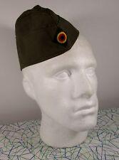 "Vintage Green Army / Military Hat MEDIUM/LARGE (23"" 57/58 cm) 100% Cotton"