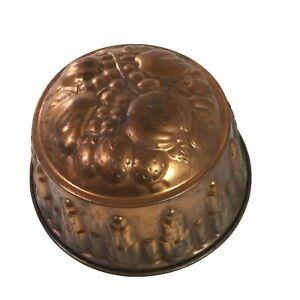 Vintage Copper Mold Jello, Aspic,Mousse