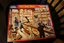 White Mountain Old Candy Store  🧩1000 Piece Jigsaw Puzzle  COMPLETE 🧩