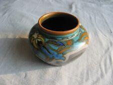 Superbe petit pot en faïence ou poterie Gouda Holland, de 1931 modèle Lad