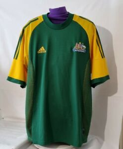 Australia Adidas 2002/04 Home Football Shirt Soccer Jersey Adult's Size Medium