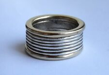 Vintage GUESS  Ring  7 Gold Plate Sterling Silver 925