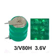 New Genuine For Varta 3/V80H 3.6V NiMH Battery PCB Mount 55608303015