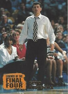 1996 CLASSIC SEARS LEGENDS OF THE FINAL FOUR * GENO AURIEMMA * CARD #WC5 UCONN