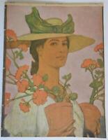 Female Gardner Jugend Magazine 1906 Issue 22 Jugenstil Art Nouveau graphics