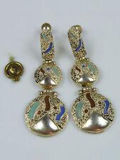 Antike Silber Ohrringe & -stecker