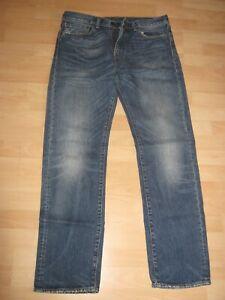 Men's Levi's 505  Blue Jeans 34W - 34L