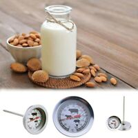 Stainless Steel Instant Read Probe Thermometer BBQ Food Cooking Meat Gauge,
