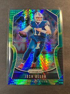 2019 Panini Prizm Josh Allen Hyper Green Prizm #151/175 Bills Football #3