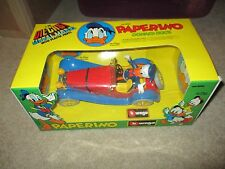 Burago Diecast Metal Model Paperino Donald Duck Car cod 8006 MIB See My Store
