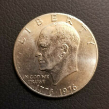 Rear Collectible Coin 1776 1976 liberty bell Eisenhower one dollar coin