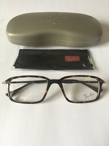 New Raybans Gents Ophthalmic Frame model ORX7019 in Colour 2301 Dark Havana