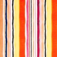 Clarke Clarke Printed Stripe Upholstery Fab. Sunrise Stripe Velvet Spice 5.50 yd