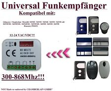 Universal Funkempfänger Kompatibel mit Motorlift / HOMENTRY 433,92Mhz Handsender