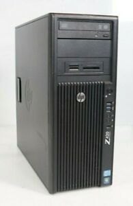 HP Z420 Tower Intel E5-1620 v2 3.7GHz 8GB 1TB HDD WIN7COA No GPU OS