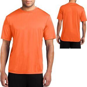 Mens Dry Fit T-Shirt Workout Moisture Wicking Tee S, M, L, XL, 2XL, 3XL, 4XL NEW