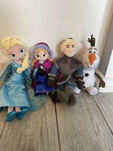 Disney Frozen Plush ANNA ELSA KRISTOFF OLAF Characters