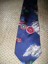 100% Silk Made in USA Allyn Saint George American Conture Mens Neck Tie  GC
