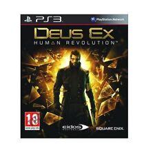 21624//DEUS EX HUMAN REVOLUTION POUR PS3 NEUF MAIS DEBALLE
