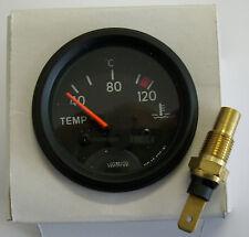 Temperaturanzeige 24V Fernthermometer mit Geber Wassertemperaturanzeige 160778