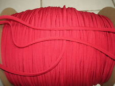 """LOT OF*10**Yards*""""1/4 IN*RUBY RED BIAS FINISHED TAPE"""