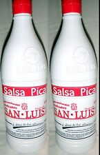 San Luis Salsa Picante Botanera Hot Sauce 1000g Each 2 Bottle Lot Sealed