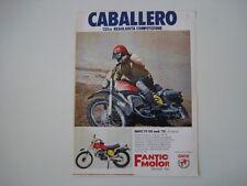 advertising Pubblicità 1975 MOTO FANTIC TX 150 CABALLERO 125 RC