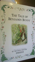 The Tale of Benjamin Bunny by Beatrix Potter (1999, Hardcover)