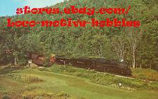 LMH Postcard NICKEL PLATE ROAD  2-8-4 NKP  NYC&StL 759 Gassetts VT Green Mtn RR