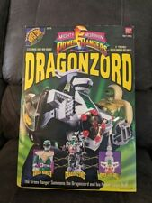 MMPR Mighty Morphin Power Rangers Dragonzord with Green Ranger 1993 1994 NIB