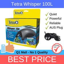 Tetra Whisper 100 Single Outlet Aquarium Air Pump - Quiet, Powerful, Reliable