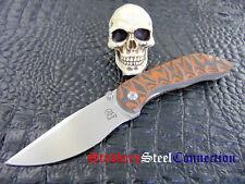 Matt Bailey Custom Handmade Model 4 Folder S 35-VN Stainless Steel Blade G10