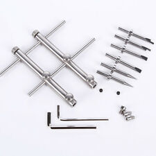 Pro Adjustable Camera Lens Spanner Wrench 3 Tips Flat Opening Open Repair Tool